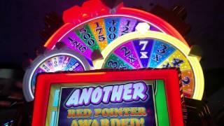 Wheel of Fortune Triple Wild Spins Bonus Mirage Las Vegas