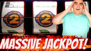 High Limit Slot Machine HUGE HANDPAY JACKPOT | High Limit Lightning Link | 3 Reel Slot JACKPOT