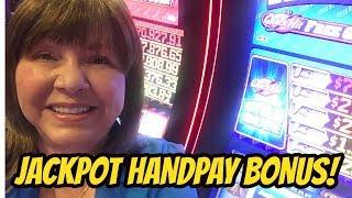 JACKPOT HANDPAY! QUICK HIT WILD BLUE SLOT MACHINE BONUS