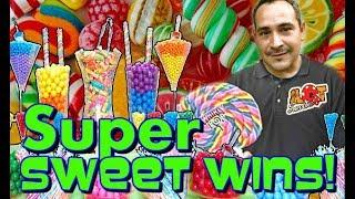 • SUPER SWEET WINS • Sugar Hits Slot Machine Jackpots + Live Play  • Slot Traveler • manny268