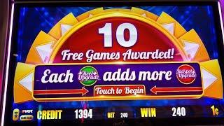 Jackpot Upgrade • Gold Pillars • Bonus Spins at Kickapoo Lucky Eagle Casino