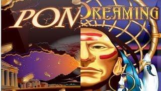 POMPEII / INDIAN DREAMING - 2 BONUS SAME TIME - Aristocrat slot machin