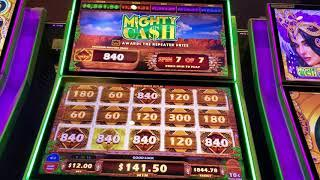 FIRST SPIN MAX BET JACKPOT BONUS! Mighty Cash Outback Bucks