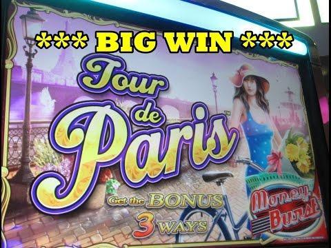 WMS  - Tour de Paris!  ** Big Win ***