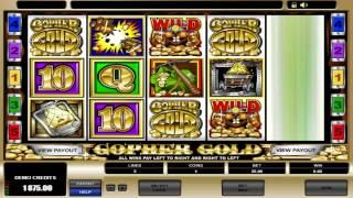 free slots machine games gopher gold
