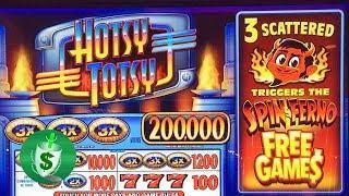 Hotsy Totsy Spin Ferno slot machine