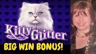 BIG WIN! GLITTER & NOT THE LITTER ON KITTY GLITTER
