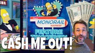 5 X $20 • CASH ME OUT Episode 9! • SIMPSONS • MIGHTY CASH • OCTOBLAST and MORE SLOT MACHINE WINS!