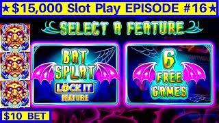 Cats, Hats & More Bats Lock It Link Slot Bonus & BIG WIN   EPISODE-16   Live Slot Play w/NG Slot