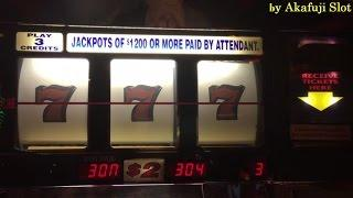 BIG WIN•BLAZING 7'S Slot Machine Max Bet $6, WILD GEMS Max Bet, SHAMROCK Dollar Slot Machine