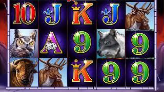 WINNING WOLF Video Slot Casino Game with a WINNING WOLF FREE SPIN BONUS