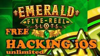 Emerald 5 Reel Classic Slots Free Old Vegas Money iPad