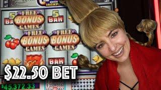 $22.50/BET BONUSES on Quick HITS  at Wind CREEK!