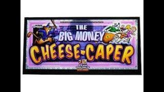 LIVE PLAY MAX BET - The Big Money Cheese Caper - FIND THE GANG Bonus