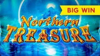 Northern Treasure Slot - BIG WIN BONUS!