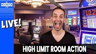 • LIVE HIGH LIMIT SLOTS @ San Manuel • BCSlots