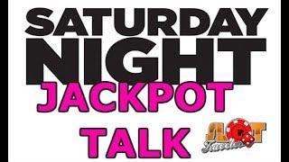 JACKPOT TALK - Saturday SLOT PLAY Results