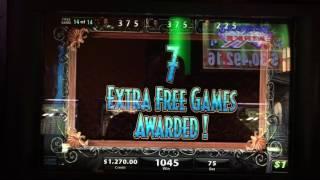 Black Widow TRIPLE Bonus Round at $75/pull 21 FREE Games!!!