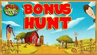 • £1K BONUS HUNT !! - Crazy Cows, Eye of Horus, Thunder Cats & More