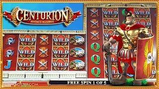 NEW SLOT!! Centurion Reelus Maximus with BIG BONUSES !!!