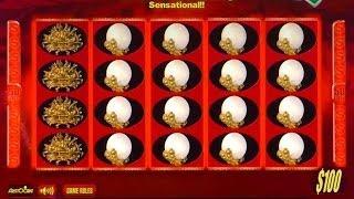 •1.2 Million Dollar Cashout Vegas High Roller Video Jackpot Handpay 50 Dragons Slot Aristocrat • SiX