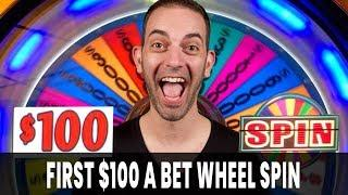 • My First $100/Spin JACKPOT on Wheel of Fortune • Woah Nelly!
