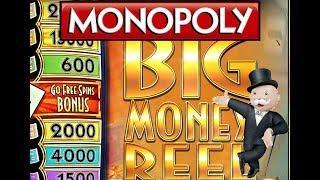 Monopoly Big Money Reel | Multiple Bonuses & Multipliers | The Slot Cats •