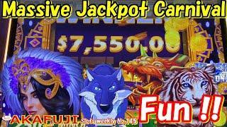Slots weekly #145⋆ Slots ⋆ Mighty Cash VEGAS WINS MASSIVE JACKPOT HANDPAY, LONG TENG HU XIAO Slots 赤富士スロット