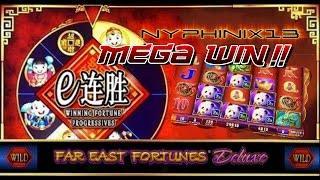 WMS | Winning Fortune Progressives: Far East Fortunes Deluxe Slot Bonus MEGA WIN!!!