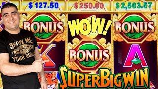 Big Money With Free Play ! KA-CHING CASH Slot Machine Max Bet Bonuses & HUGE WIN | Las Vegas