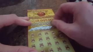 DONALD TRUMP IS OUR PRESIDENT! $2,000,000 MERRY MILLIONAIRE ILLINOIS LOTTERY SCRATCH OFF!
