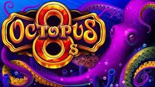 Octopus 8s Slot - NICE SESSION, ALL FEATURES!