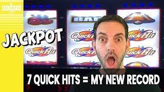 • 7 Quick Hits JACKPOT! • RECORD @ San Manuel Casino • BCSlots