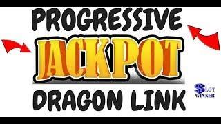 PROGRESSIVE JACKPOT WIN! DRAGONS LINK SLOT MACHINE