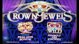 WINNING on CROWN JEWELS SLOT POKIE + THUNDER CASH +  DESERT CATS BONUSES - PECHANGA - PALA