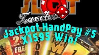 ☆☆ Huge Jackpot Handpay #6  ☆☆ Walking Dead x1595 Win  - Good Luck Fridays ♠ SlotTraveler ♠