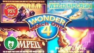 Wonder 4 slot machine, 95% payback, Which One