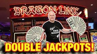 ⋆ Slots ⋆ Winning Double Jackpots on Dragon Link ⋆ Slots ⋆ $50 Max Bet Golden Century + Happy & Prosperous