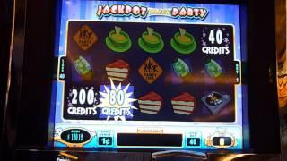 Jackpot Block Party Slot Machine Bonus Win (queenslots)