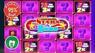 Quick Hit Platinum Stars & Bars 95% payback slot machine, bonus