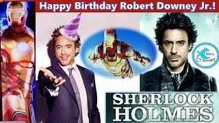 Happy Birthday Robert Downey Jr! Ironman and Sherlock Holmes Slot Machine - Multiple Bonuses