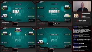 Rounder University Poker Strategy Live Stream 50NL Ignition Online Poker