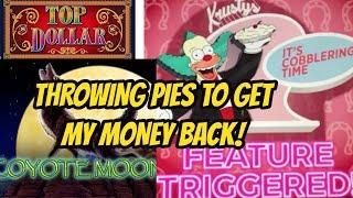 FIRST TIME BONUS- THROWING PIES FOR MONEY!