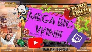 24 Spins!! Mega Big Win From Extra Chilli!!