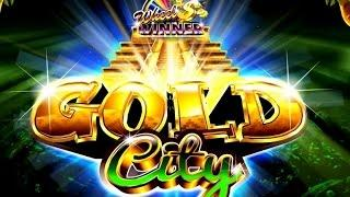 GOLD CITY slot machine Bonus WIN