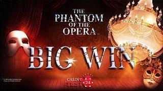 BIG WIN on The Phantom of the Opera Slot (Microgaming) - 3€ BET!