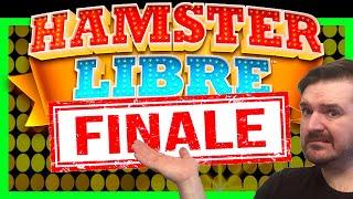 Grand Finale On HIGH LIMIT Quarter Denom Hamster Libre Slot Machine!