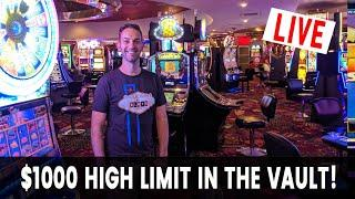 • HIGH LIMIT ROOM Live Stream • San Manuel Casino with Brian Christopher Slots #AD