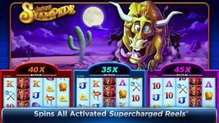 Supercharged Reels™ Roman Chariots™ And Jackpot Stampede™ Slot Machines By WMS Gaming