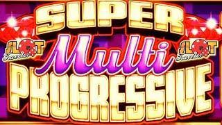 • SUPER MULTI PROGRESSIVE WON! • MAX BET LIVE PLAY SLOT BONUS • LAS VEGAS | Slot Traveler